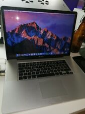 Macbook pro 17 early 2011 i7 2,2 ghz 16 gb ram 500 gb ssd