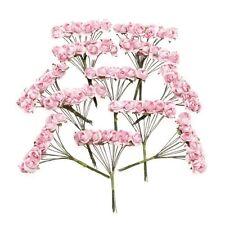 144 pz Mini fiori carta rosa di nozze per bomboniera artigianale (rosa) HK