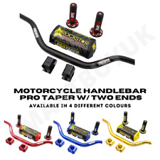 Pro Taper 28mm Motorcycle Handlebars ATV High Handle bars DIRT BIKE Pad Grips