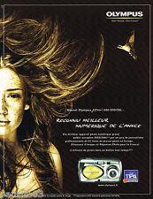 Publicite ADVERTISING 065 2004 olympus camera 400 digitalb tipa