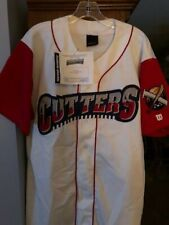 Williamsport Crosscutters Authentic Game Worn Home Jersey #24 Kyle Drabek