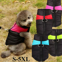 Handmade Puppy Wadded Jacket Dog Vest Thickened Clothes Pet Warm Coat