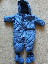 Mothercare Baby Snowsuits Age 6-9 Months