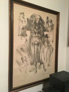 """Leroy Neiman's """"Napoleon"""", signed limited Edition Artist Proof lithograph"""