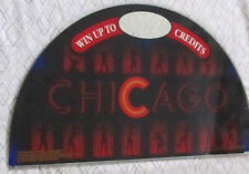 "Very Rare ""Chicago"" Slot Machine 1/2 moon ""Top Box"" Glass"
