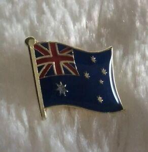 NEW Australia Flag Lapel Pin Badge 19mm x 16mm AUSSIE PROUD SOUVENIR 🇦🇺