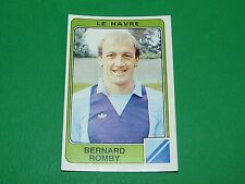 N°101 ROMBY LE HAVRE HAC PANINI FOOTBALL 86 CHAMPIONNAT FRANCE 1986