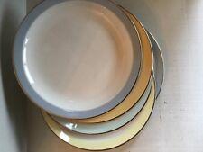 Petrus Ragout Dinner Plates, lot of 5 pastel, Maastricht, Holland, sphinx