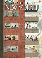 """THE NEW YORKER MAGAZINE JUNE 25 2018- """"CITY LIVING"""" DAY U PAY IT SHIPS FREE"""