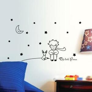 Little Prince Wall Stickers Stars Fox Moon Nursery Art Decals Vinyl Home Bedroom