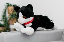 40CM XL LARGE BIG SOT PLUSH STUFFED BLACK CAT HUGE TOY TEDDY BEAR PLAY CUDDLY