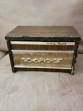 Rare Vintage Melody Bank Coins AM Transistor Radio / 9V Battery Operated