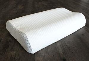 Nackenstützkissen mit waschbarem Visco Innenkern - 6-fach höhenverstellbar
