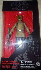 "Star Wars Black Series 6"" Resistance Trooper The Force Awakens 6 inch Figure NEW"