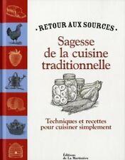 Sagesse de la cuisine traditionnelle - Andrea Chesman - Livre - 203208 - 2419152
