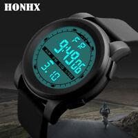 Fashion Men's LED Waterproof Digital Quartz Military Luxury Sport Wrist Watches