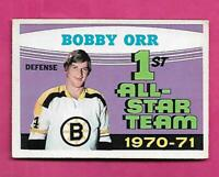 1971-72 OPC # 251 BRUINS BOBBY ORR AS EX CARD (INV# D8080)