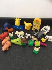 Lego Duplo Farm Animals  And Bricks