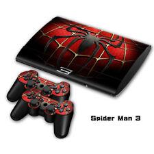 Spiderman Avengers Marvel Skin Sticker Wrap Decal For PlayStation PS3 super Slim