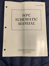 Williams Midway Wpc Schematic Manual