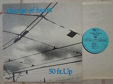 Change of Heart – 50 ft. UP VINILE LP TOP Condition primitive – PR 86001
