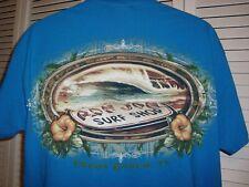 Ron Jon Surf Shop Men's Turquoise T Shirt Size Large Cocoa Beach, Fl