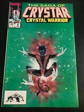 The Saga Of Crystar Crystal Warrior#6 Incredible Condition 9.4(1984)Nightcrawler