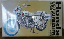 Honda CB750 POLICE TYPE 1/6 scale Big scale 4 Free Shipping from JAPAN