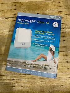Verilux Happy Light Liberty 5K Energy Lamp Light Therapy New