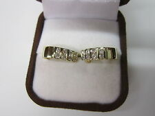 GORGEOUS ESTATE 14 KT GOLD .80 CTW DIAMOND EARRINGS 4.1 GRAMS !!!!!!