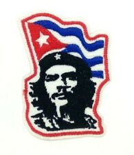 Che Guevara flag Embroidered Iron-On Patch - US Seller Che Vive! 1506