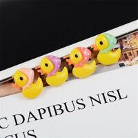 16x20mm Resin Ducks 20-Pack Flat Back Craft Making Embellishments Decorations