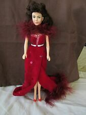 World Dolls Gone with the Wind Scarlett O'Hara in a Red Evening Gown