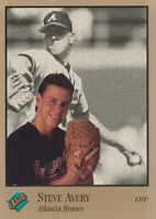 Steve Avery 1992 Leaf Studio #1 Atlanta Braves Baseball Card