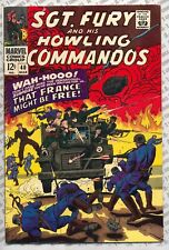 Sgt. Fury and His Howling Commandos #40 (1967) Fine (6.0) ~ Marvel Comics