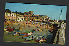 Posted 1963 View of People & Boats in Broadstairs Harbour