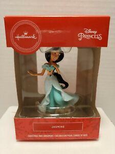 Hallmark 2019 Disney Princess Jasmine Christmas Tree Ornament Red Box New