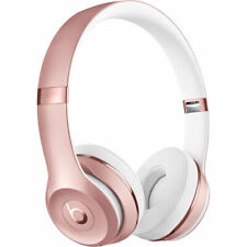 BRAND NEW BEATS BY DR. DRE SOLO3 WIRELESS ON-EAR HEADPHONES - ROSE GOLD