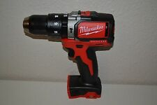 "New Milwaukee 2702-20 M18 18V  Compact Brushless 1/2"" Hammer Drill Driver"