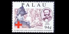 Palau  MNH, Henri Dufour, Swiss army officer, bridge engineer, Red Cross, Dunant