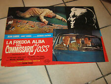 FOTOBUSTA,LA FREDDA ALBA DEL COMMISSARIO JOSS ,JEAN GABIN,G.LAUTNER,AUTO CAR