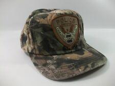 Vintage Shreveport Police Patch Hat Camo Snapback Baseball Cap Made USA