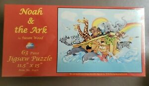 Noah & the Ark by Susan Wood Jigsaw Puzzle (sealed)