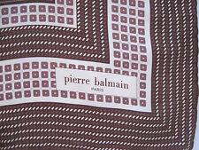Beau Foulard vintage   PIERRE BALMAIN - PARIS - 100% soie  TBEG  Scarf