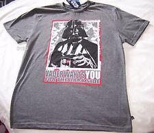 Star Wars Recruit Mens Grey Printed T Shirt Size XXS New