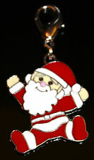 Jumping Padre Navidad Clip En Bolsa De Encanto