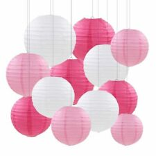 20pcs/set White Chinese Paper Lantern Ball Lampion Wedding BabyShower