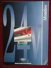 FORD MONDEO V6 24V 1994 Sales Brochure