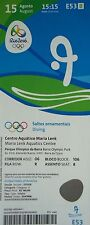 MINT TICKET 15.8.2016 Olympics Rio HIGH DIVING DIVING #E53