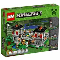LEGO MINECRAFT The Fortress 21127 Building Toys Blocks Set Minifigures Retired